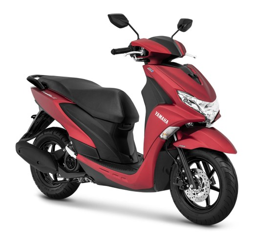 "Yamaha FreeGo ""S"" warna Matte Red"