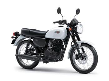Kawasaki W175 Tipe Standard Warna Pearl Crystal White (Putih)