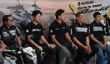 launching Suzuki GSX150 Bandit di Bali
