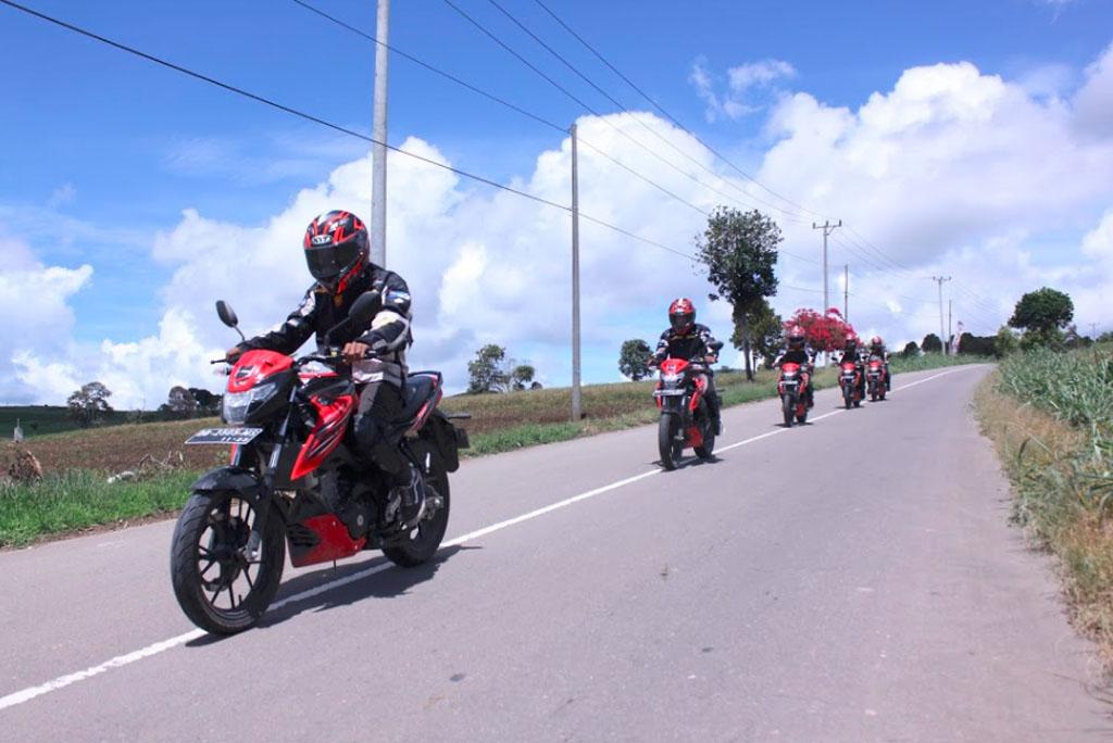 GSX150 Bandit Touring Teman Satu Tujuan Manado - Kotamobagu