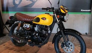 Kawasaki W175 Cafe warna Kuning