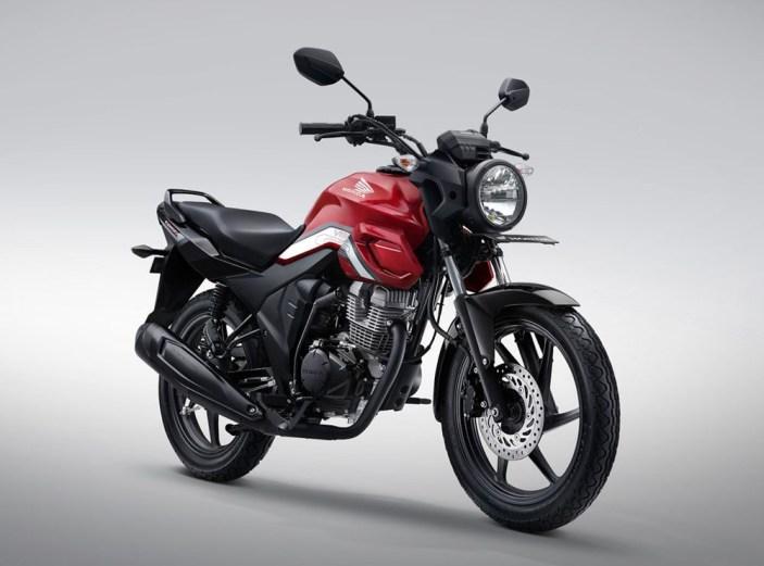 Honda CB150 Verza Warna Bold Red