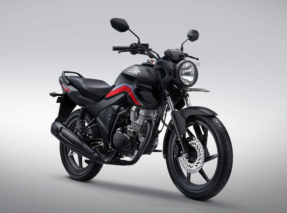 Honda CB150 Verza Warna Macho Matte Black