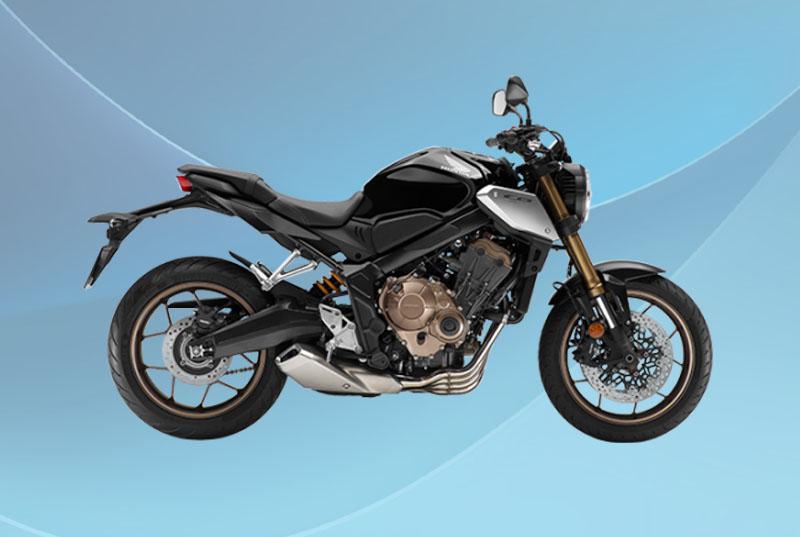 Honda CB650R Warna Graphite Black (Hitam)