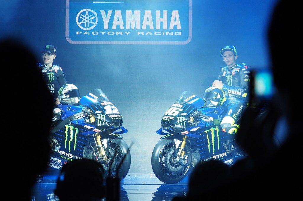 Livery Yamaha M1 MotoGP 2019