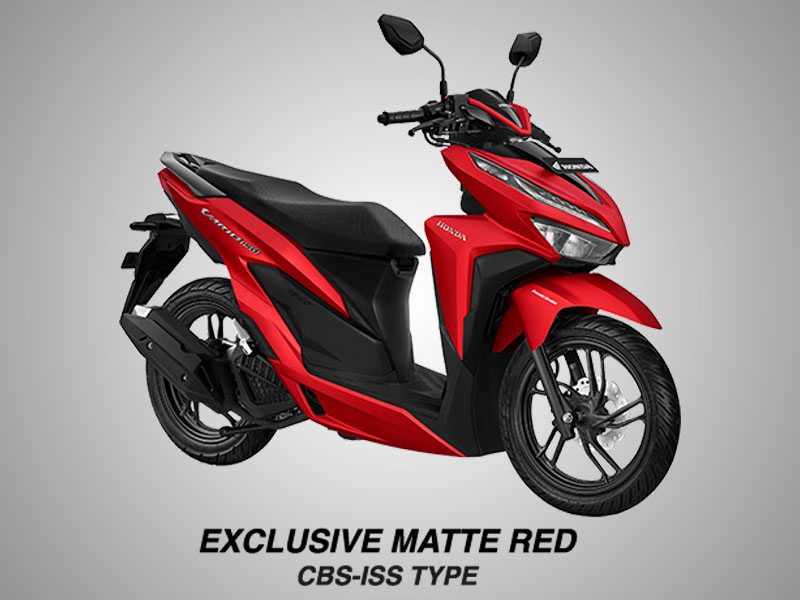 Honda Vario 150 eSP Warna Exclusive Matte Red