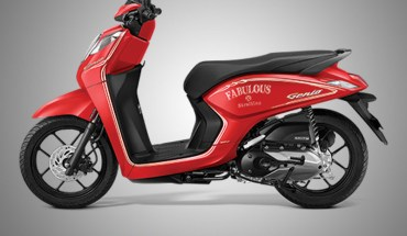 Honda Genio Warna Fabulous Red