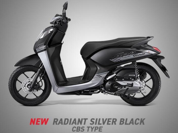 Honda Genio Warna Radiant Silver Black