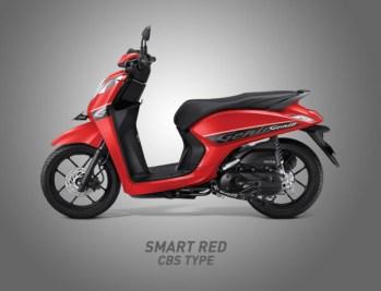 Honda Genio Warna Smart Red