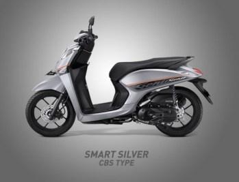 Honda Genio Warna Smart Silver