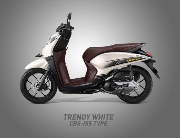 Honda Genio Warna Trendy White