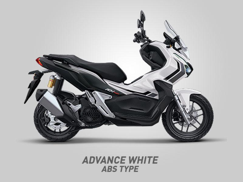 Honda ADV150 Tipe ABS Warna Advance White