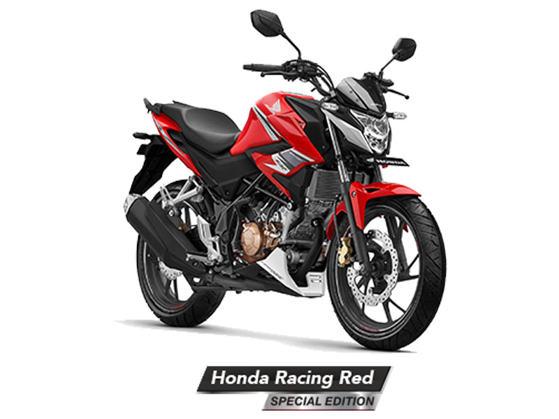 Honda CB150R Streetfire Warna Racing Red