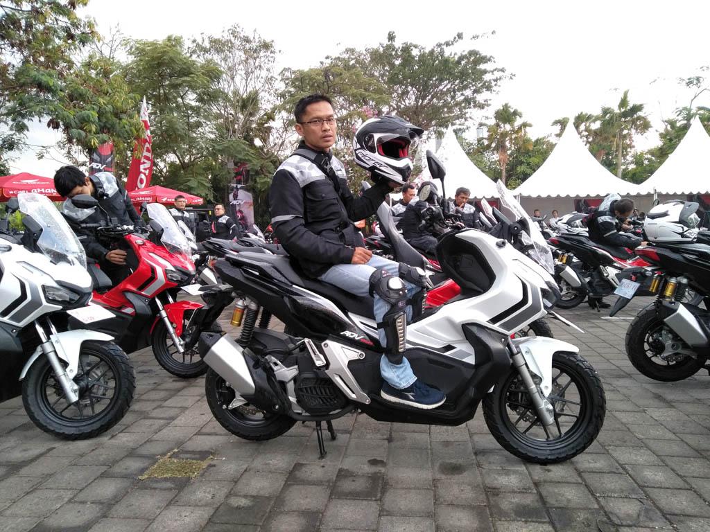 Touring Perdana Honda ADV150