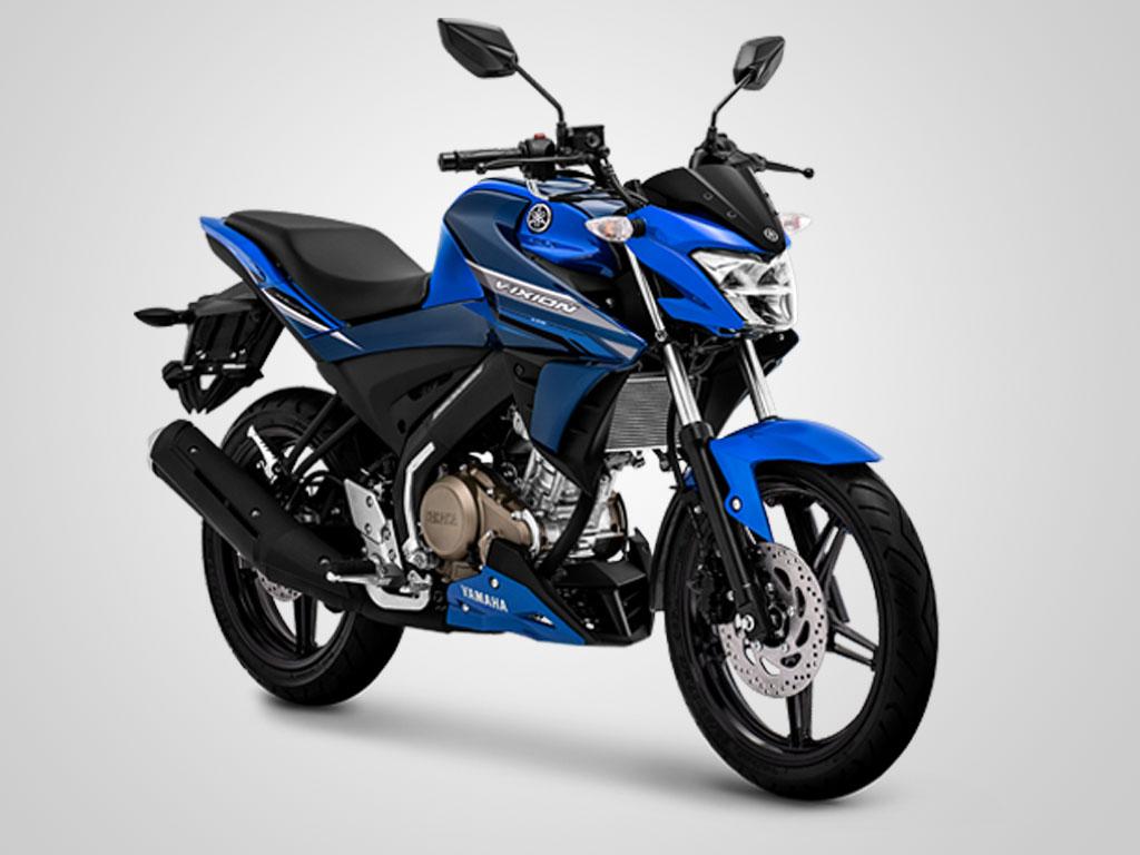 Yamaha Vixion warna Metallic Blue