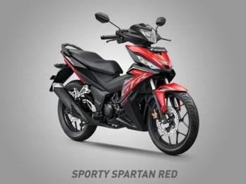 Honda Supra GTR150 Warna Sporty Spartan Red