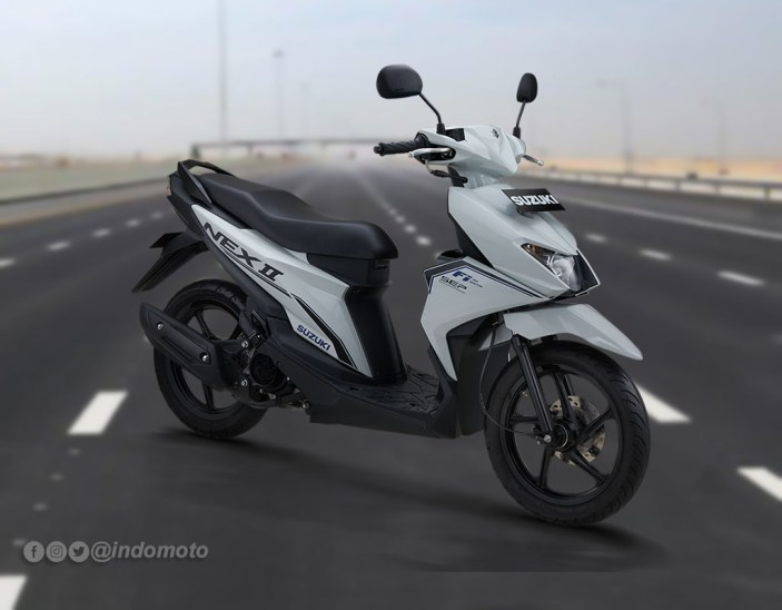 Suzuki Nex II Varian Standard Warna Brilliant White