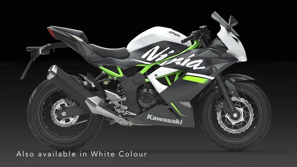 Kawasaki Ninja 250SL Warna Putih
