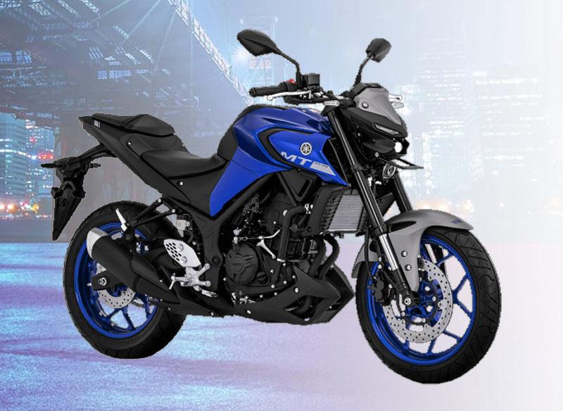 Yamaha MT-25 Warna Metallic Blue