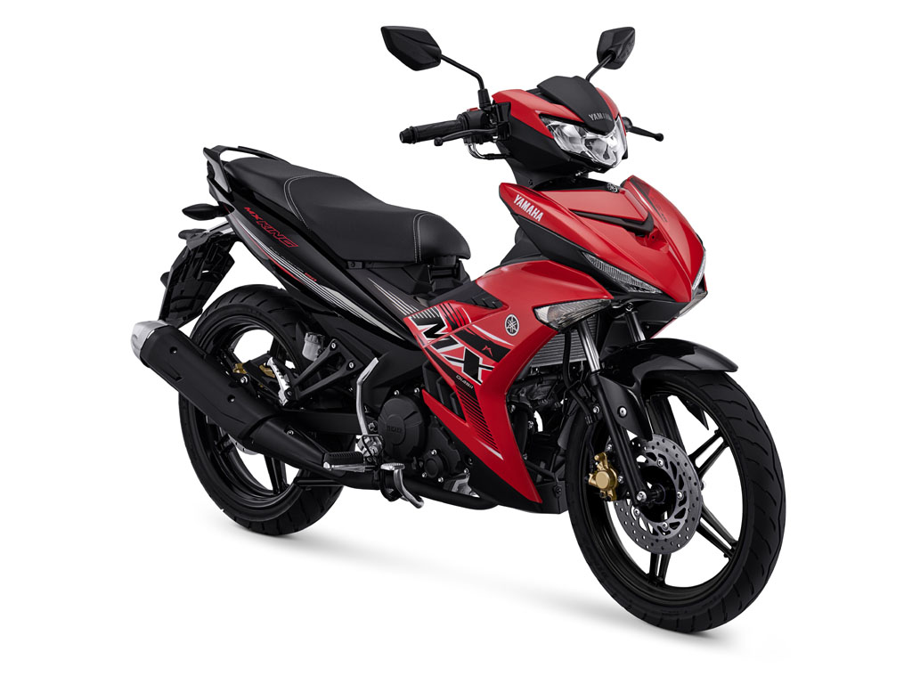 Yamaha MX King Warna Aggressive Red