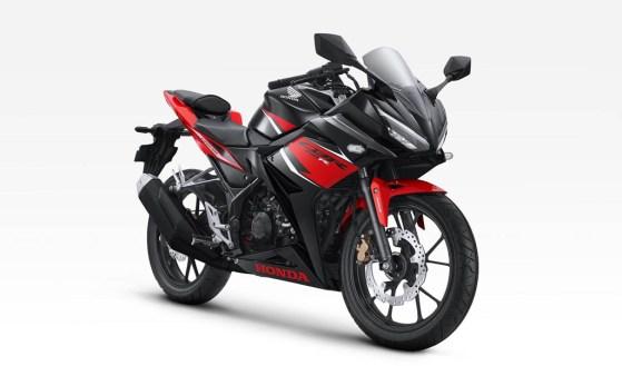 Honda CBR150R Warna Victory Black Red