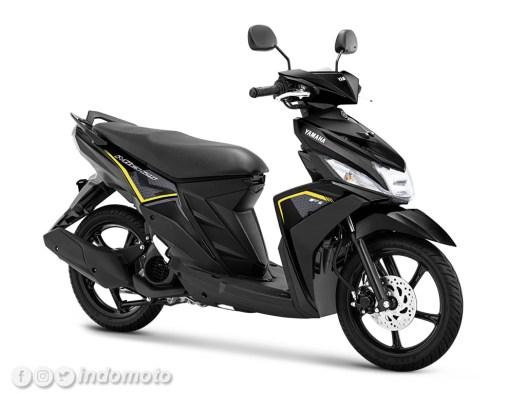 Yamaha Mio M3 warna Metallic Black