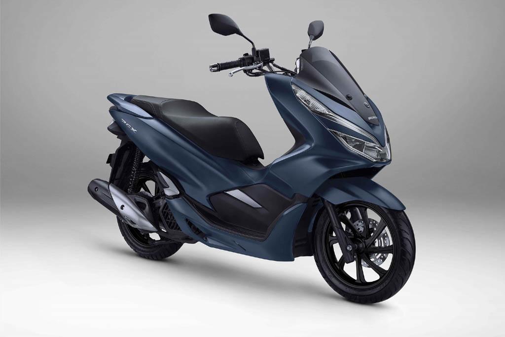 Honda PCX Warna Royal Matte Blue