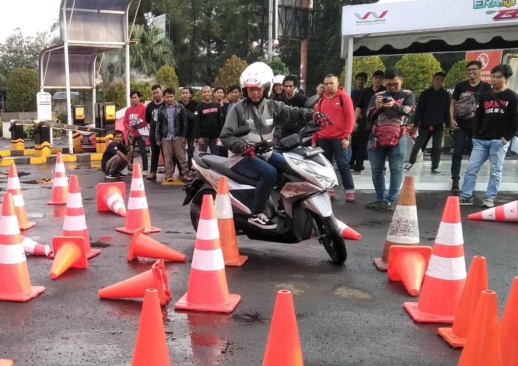 test ride Honda Beat