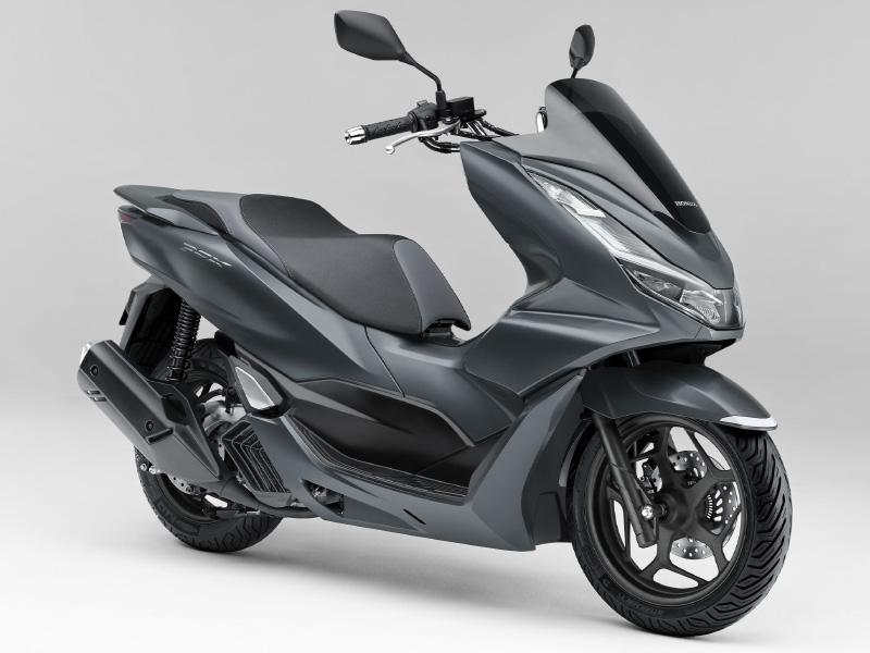 Honda PCX160 Warna Matt Dim Gray Metallic (Abu-abu)