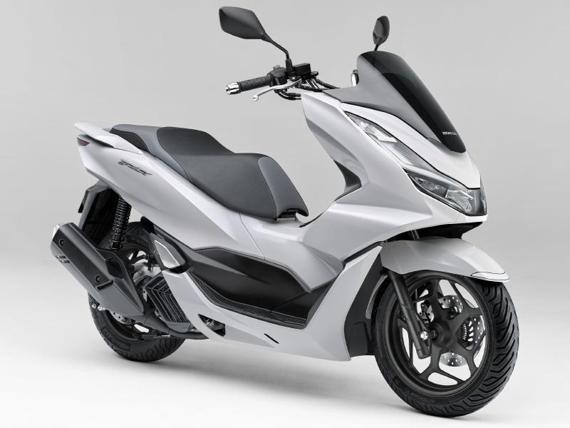 Honda PCX160 Warna Pearl Jasmine White (Putih)