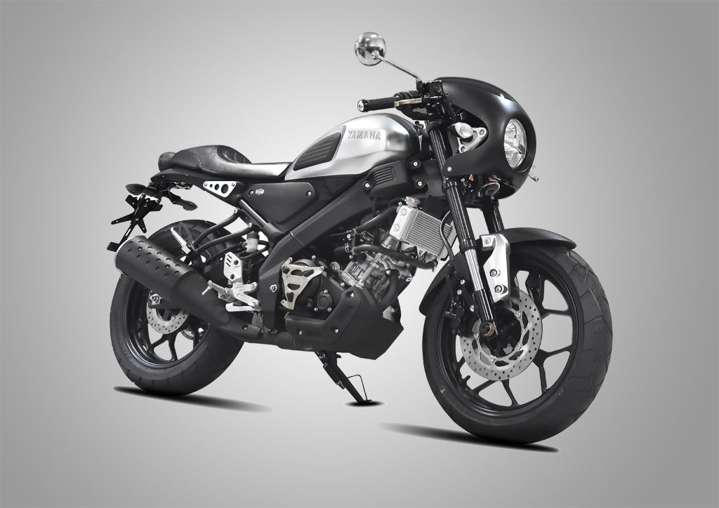 modifikasi yamaha xsr 155 cafe racer