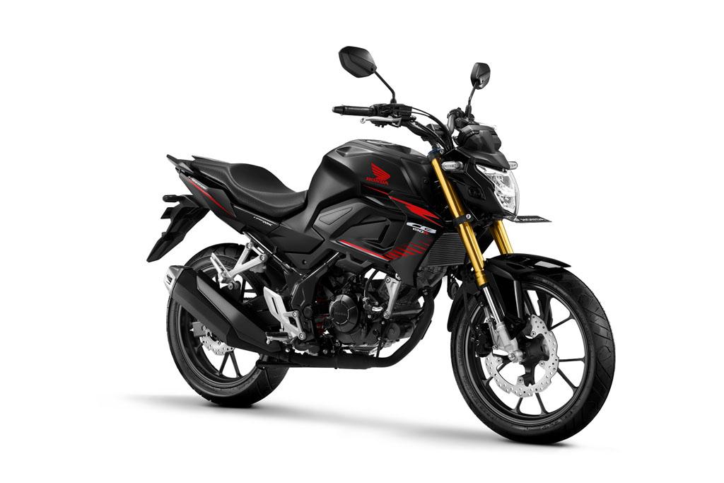 All New Honda CB150R Streetfire Warna Macho Black
