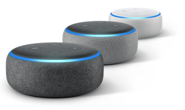 Amazon Echo Dot - colores