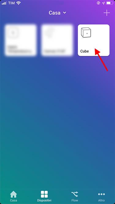 App Homey - Xiaomi - Cube