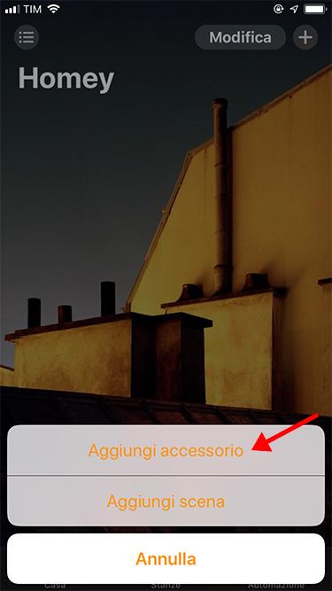 Apple HomeKit - Accessory addition Homey 2019