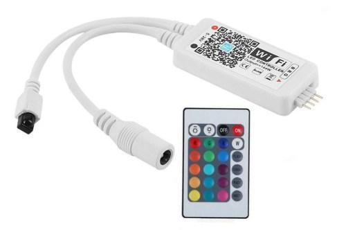 Controller LED RGBW Wifi - con telecomando
