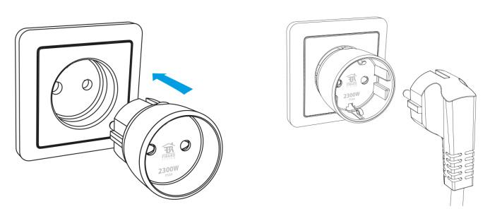 FIBARO Wall Plug - Mounting