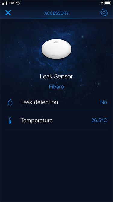 FibaroHome - Flood Sensor - 1