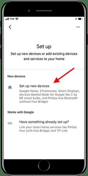 Google Home - Add device 3