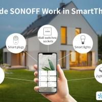 Samsung SmartThings accoglie la famiglia ITEAD Sonoff