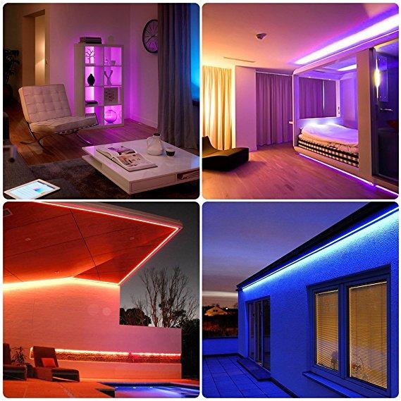 Illuminazione HUE LED per ambienti domestici