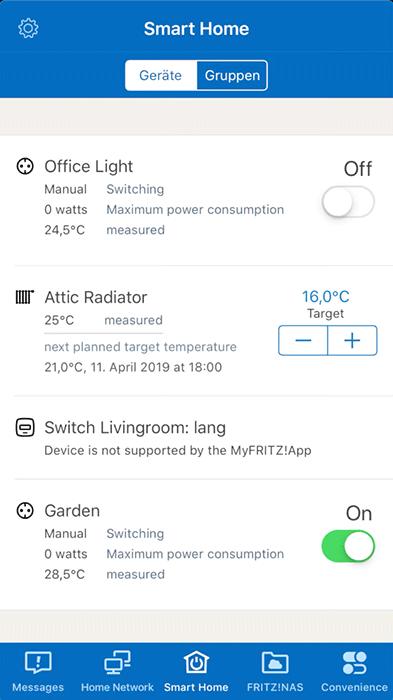 MyFRITZ!App - Screen 3