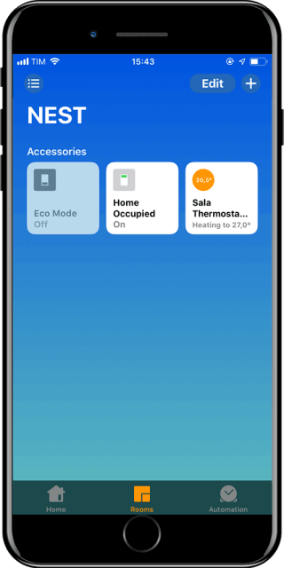 NEST Apple HomeKit via Homebridge