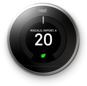 NEST Learning Thermostat V3 - Frontal