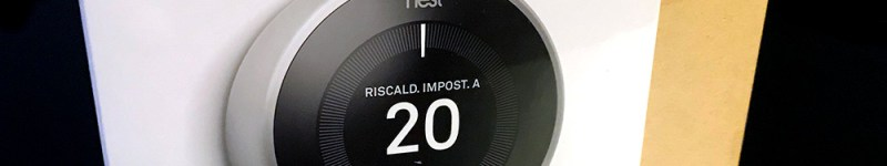 NEST Learning Thermostat (termostato intelligente) v3