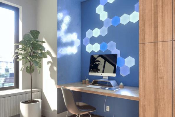 Nanoleaf - Hexagon interactif unifié Light Panneaux