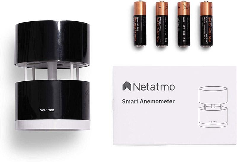 Netatmo Anemometro Wireless - Contenuto package