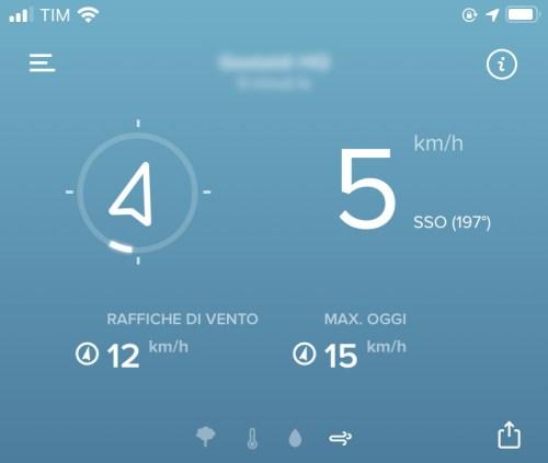 Netatmo Anemometro Wireless - Lettura