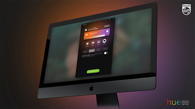 Philips Hue Synchronisieren Mac