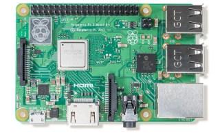 Raspberry Pi 3 B+ board